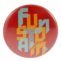 plakietka Funstorm Buttons AU01227 - Red