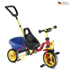 Dziecięca czerwona rowerek trójkołowy CARRY TOURING TIPPER - CAT 1 S - PUKY 2324