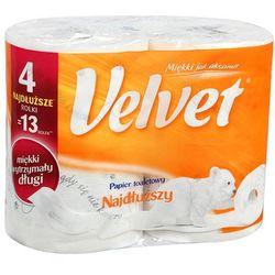VELVET 4szt Najdłuższy Papier toaletowy