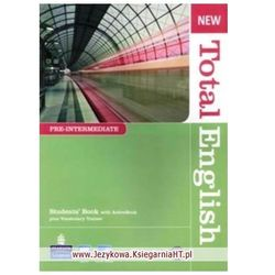 New Total English Pre-Intermediate Student's Book (podręcznik) with ActiveBook CD-ROM and MyLab Access (opr. miękka)