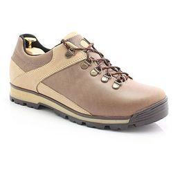KENT 290 BRĄZ- Trekkingowe buty męskie 100% skórzane