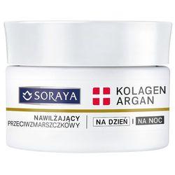 Soraya Kolagen+Argan, nawilżający krem przeciwzmarszczkowy, 50 ml