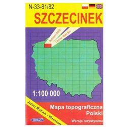 WZKart: SZCZECINEK 1:100 000 mapa topograficzna Polski wydanie turystyczne (opr. miękka)