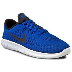 Buty NIKE - Nike Free Rn (Gs) 833989 401 Game Royal/Black/White