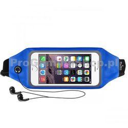 Sportowe Etui na opasek PURO z oknem do GoClever Quantum 500 Lite, Blue