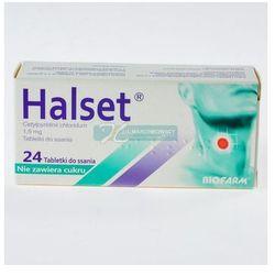 Halset, tabletki do ssania bez cukru, 24 szt