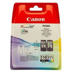 Canon oryginalny ink blistr, PG-510/CL-511, black/color, 220, 245s, 9ml, 2970B010, Canon MP240, 260, 270, 480