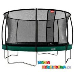 Trampolina dla dzieci BERG Elite + Regular Green 330 cm + Siatka zabezpieczająca T-series 330 cm
