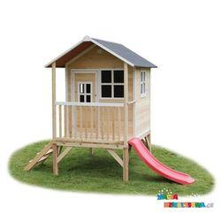Domek dla dzieci ogrodowy EXIT Loft 300 naturalny