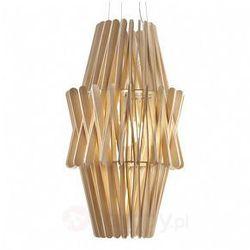 Drewniana lampa wisząca STICK