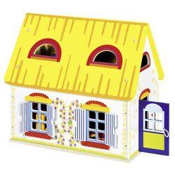 Goki, Wiejski domek z wyposażeniem, 19 elementów Darmowa dostawa do sklepów SMYK