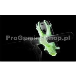 Uchwyt na rower Bone Bike Tie do smartfona, Luminous Green