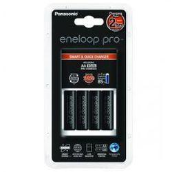 Ładowarka Panasonic Eneloop BQ-CC16 + 4 x R6/AA Eneloop PRO 2550mAh BK-3HCCE