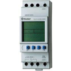 Programator tygodniowy elektroniczny 1CO 16A 12V AC/DC 12.21.0.024.0000