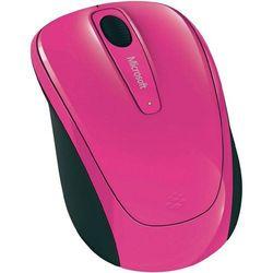 Mysz bezprzewodowa, Microsoft GMF-00276, Optyczny, 1000 dpi, Radiowa, Różowy