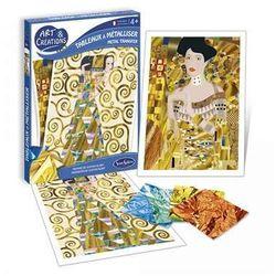 Obrazy w stylu Gustav Klimt Metal Transfer - zestaw kreatywny dla dzieci