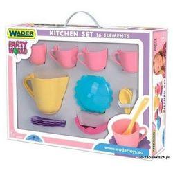 Wader 22050 - Serwis kawowy 16 elementów