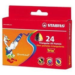 Pastele olejne Stabilo Trio 2624 24kol.
