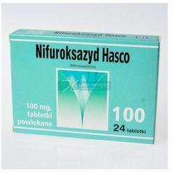 Nifuroksazyd (Hasco), 100 mg, tabl.powl.,24 szt,bl