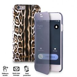 JUST CAVALLI Leopard Sense Case - Etui Apple iPhone 6 w/Quick View & Answer