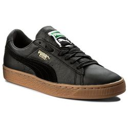 Sneakersy PUMA Basket Classic Gum Deluxe 365366 02 Puma Black