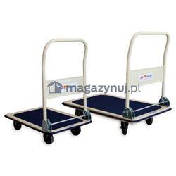 Wózek platformowy jednoburtowy, składany. Wym. 910x610mm