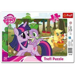 Puzzle TREFL Ramkowe Kucyki Pony W Sadzie 31155 (15 elementów)
