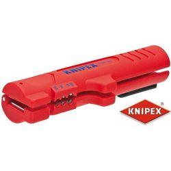 KNIPEX Narzędzie do ściągania izolacji z kabli płaskich i okrągłych (16 64 125 SB)