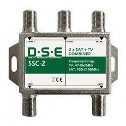 Sumator RTV/SAT x2 DSE SSC2, do twina Oferta
