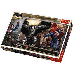 Trefl, Batman v Superman, puzzle, 160 elementów Darmowa dostawa do sklepów SMYK