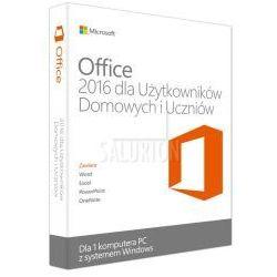 Microsoft Office 2016 dla Użytkowników Domowych i Uczniów 32/64 Bit PL