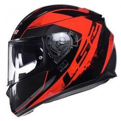 Kask motocyklowy LS2 FF320 STREAM STINGER RED