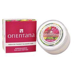 Orientana, krem do twarzy na dzień i na noc, żeń-szeń indyjski, 40 g