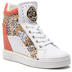 73a25e37a botki damskie sneakersy guess hilda2 fl2h2d fap12 beige w kategorii ...