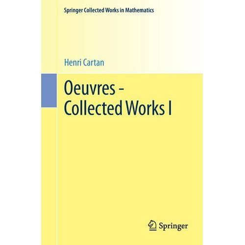 Oeuvres - Collected Works I Cartan, Henri