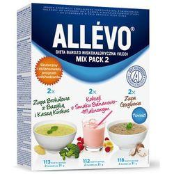 ALLEVO Mix Pack 2 185g (4 x zupa + 2 x Koktajl)