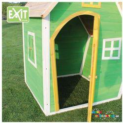 Domek ogrodowy dla dziecka EXIT Fantasia 100 zielony + GRATIS