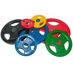 Obciążenie olimpijskie gumowane 25kg kolorowe