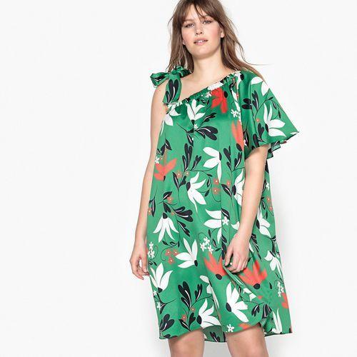 a431fe03b6 Kwiecista sukienka bez rękawów