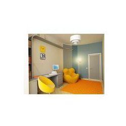 Foto naklejka samoprzylepna 100 x 100 cm - Wnętrze pokoju dziecięcego