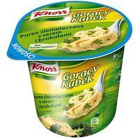 Gorący Kubek Puree ziemniaczane z serem i brokułami 50 g Knorr