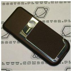 Obudowa Nokia 7360 tylna / pokrywa baterii brązowa
