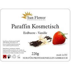Sun Flower Parafina Truskawkowo - Vaniliowa 220g