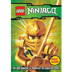 Film GALAPAGOS Lego Ninjago. Kompletna kolekcja - Części 1-6 (6 DVD) Lego Ninjago: Masters of Spinjitzu
