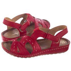 Sandały MACIEJKA 03607 0800 5 Czerwony