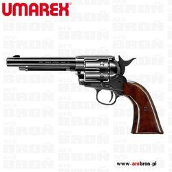 Wiatrówka rewolwer Umarex Colt Peacemaker Single Action Army BLUE kaliber BB 4.46 mm - 6 strzałowy, niebieska stal
