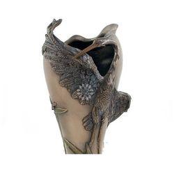 Secesyjny Wazon z czaplą Art Nouveau Veronese