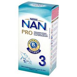 NESTLE NAN PRO 3 350g Mleko następne z B.Lactis dla dzieci powyżej 1 r