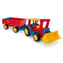 Wader Gigant Traktor z łyżką i przyczepą - 66300