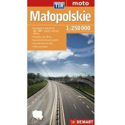 Małopolskie TIR - mapa samochodowa (opr. broszurowa)